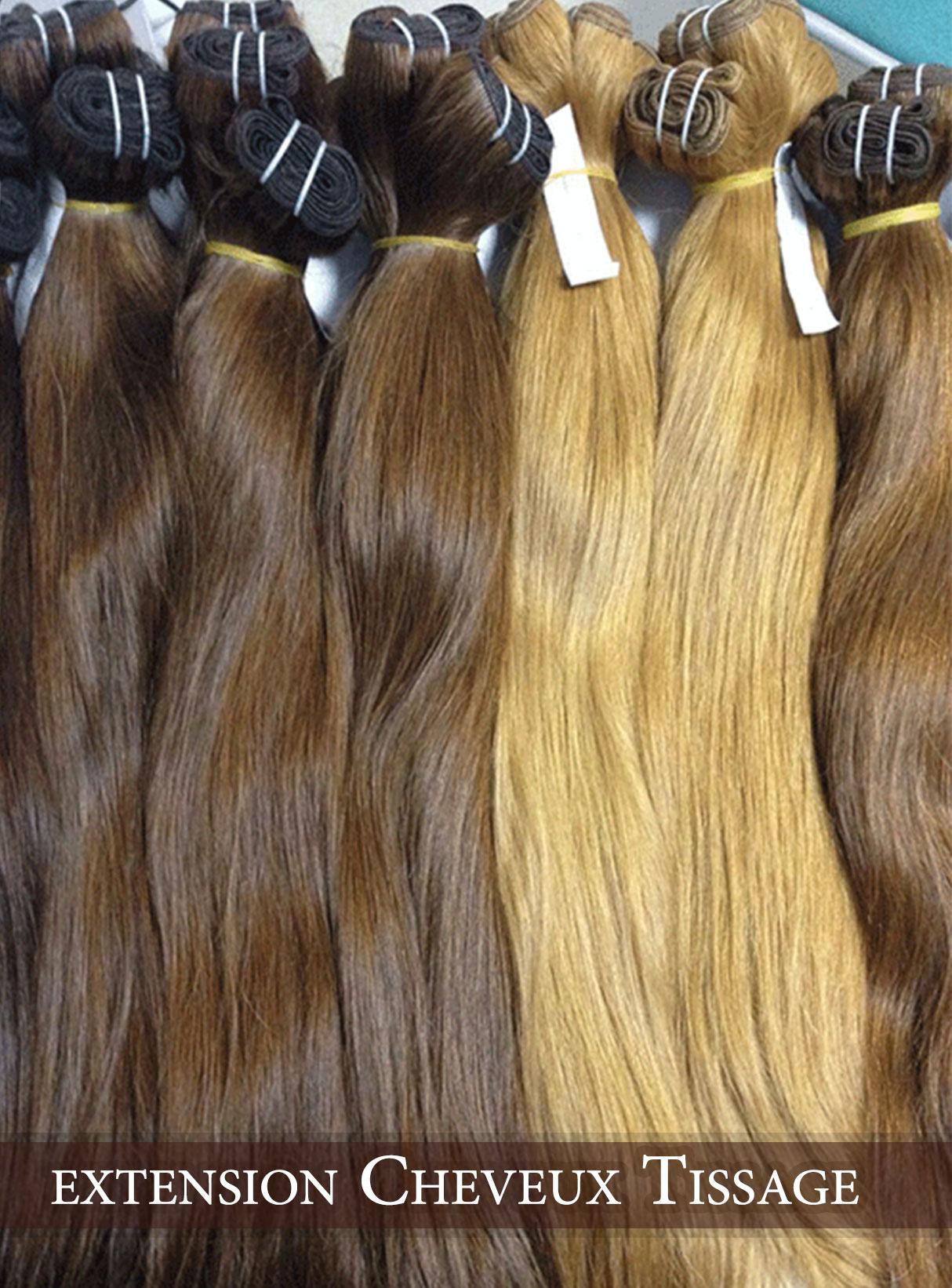 Extension de cheveux adhesif
